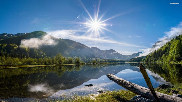 summer-morning-in-the-mountains-sun-lake-tree-forest-nature-2560x1440-wallpaper232772